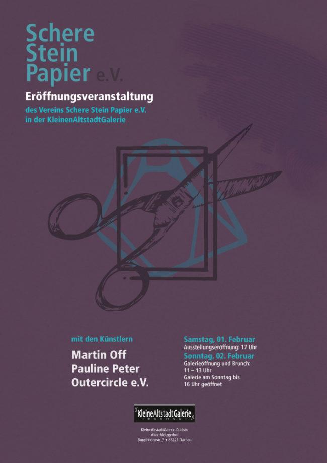 Eröffnungsveranstaltung Schere, Stein, Papier e.V.